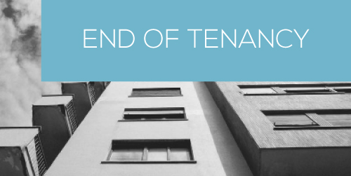 End of Tenancy